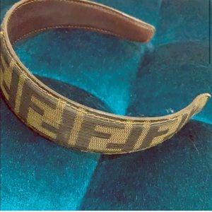 Authentic Fendi headband